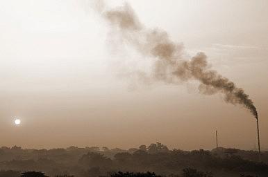 Image Credit: India smokestacks via Shutterstock.com